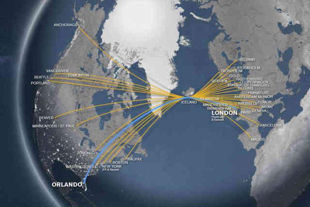 Orlando To London Flights
