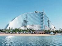 Jumeirah Beach Hotel. Images Video Map