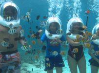 Helmet Diving in Mauritius 21