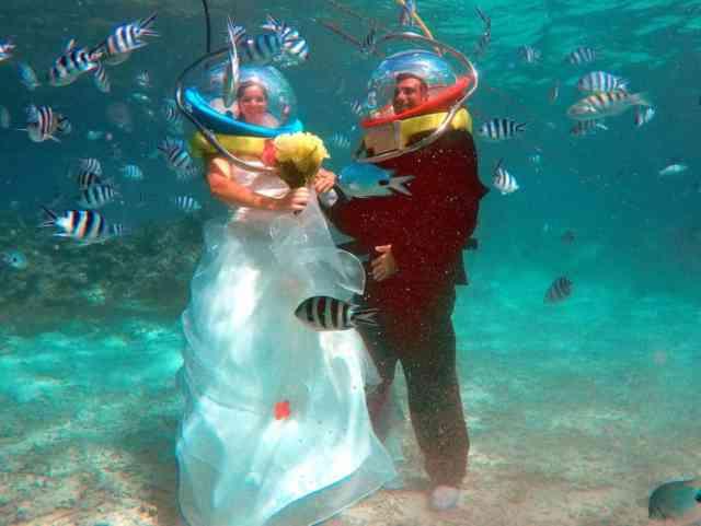 Helmet Diving in Mauritius 4