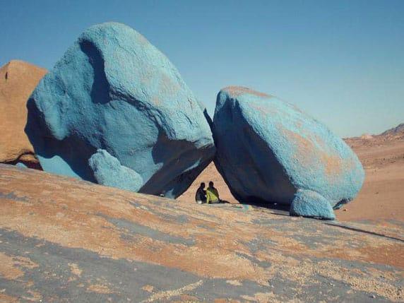 The Blue Desert
