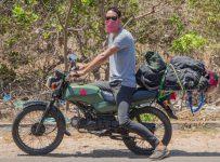 Bike riding in Vietnam