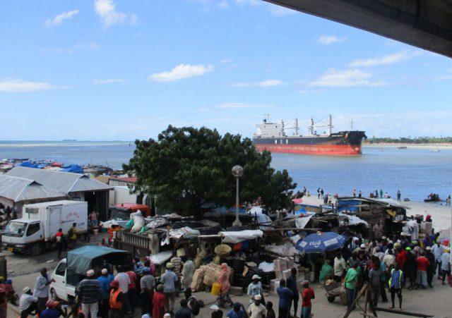 Kivukoni Fish Market in Dar es salaam, Tanzania