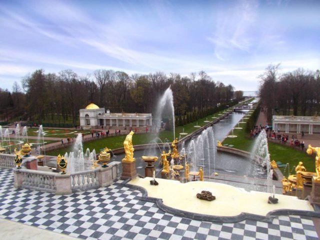 Peterhof Fountains, St. Petersburg