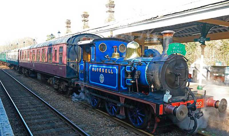 Spa Valley Railway In Royal Tunbridge Wells