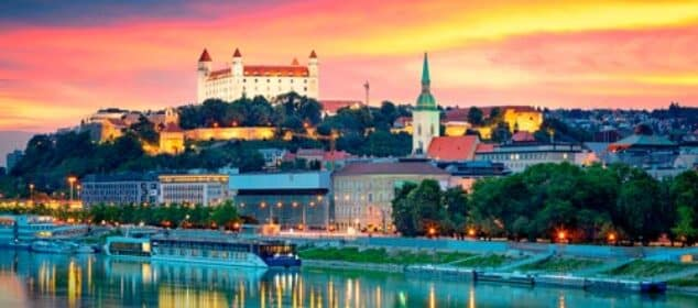 Bratislava capital of Slovakia